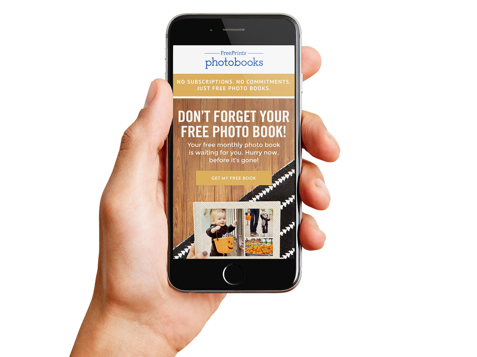 freeprints photobooks email campaigns