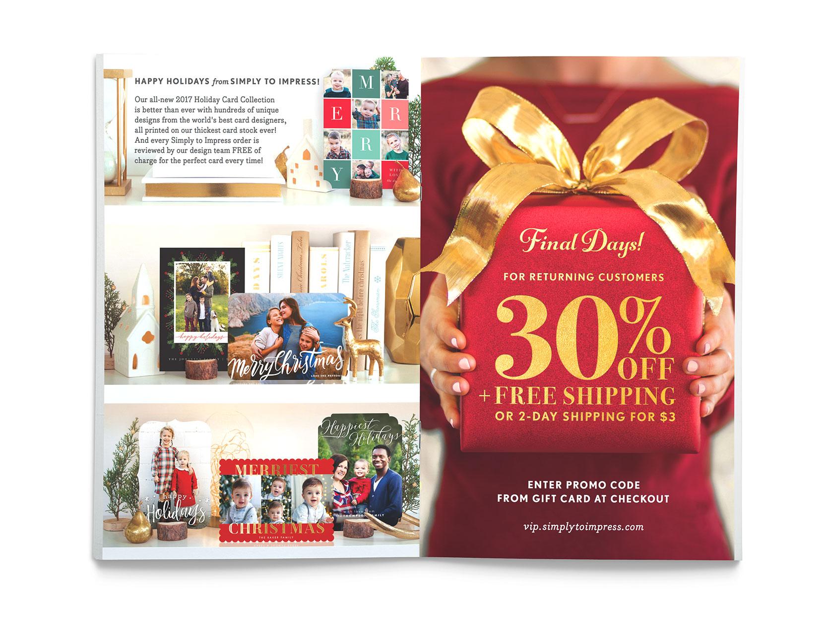 previous - Simply To Impress Christmas Cards